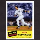 2005 Topps Heritage Baseball New Age Performers #02 Alex Rodriguez - New York Yankees