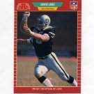 1989 Pro Set Football #186 Howie Long - Los Angeles Raiders