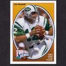 1991 Upper Deck Football Joe Namath Heroes #12 Joe Namath - New York Jets