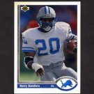 1991 Upper Deck Football #444 Barry Sanders - Detroit Lions