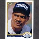 1991 Upper Deck Football #343 Junior Seau - San Diego Chargers