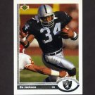1991 Upper Deck Football #155 Bo Jackson - Los Angeles Raiders