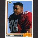 1991 Upper Deck Football #015 Eric Swann RC - Phoenix Cardinals