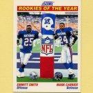 1991 Score Football #675 Emmitt Smith / Mark Carrier ROY