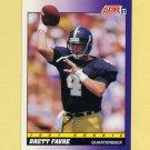 1991 Score Football #611 Brett Favre RC - Atlanta Falcons