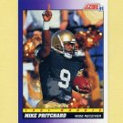 1991 Score Football #592 Mike Pritchard RC - Atlanta Falcons