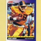 1991 Score Football #574 Jake Reed RC - Minnesota Vikings
