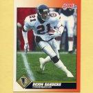 1991 Score Football #395 Deion Sanders - Atlanta Falcons