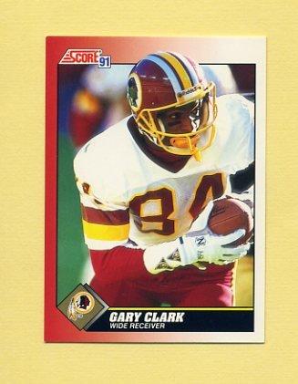1991 Score Football #154 Gary Clark - Washington Redskins