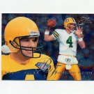 1995 Flair Football #074 Brett Favre - Green Bay Packers