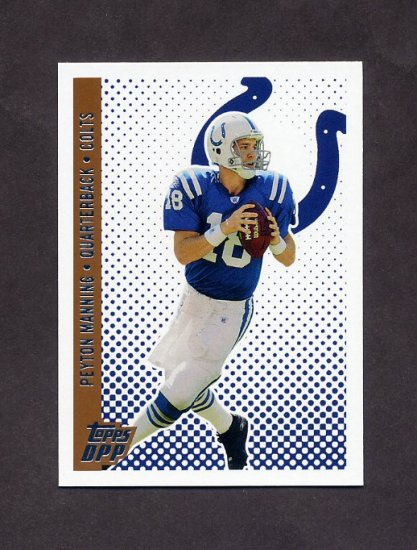 2006 Topps Draft Picks and Prospects Football #013 Peyton Manning - Indianapolis Colts