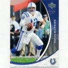 2004 Sweet Spot Football #041 Peyton Manning - Indianapolis Colts