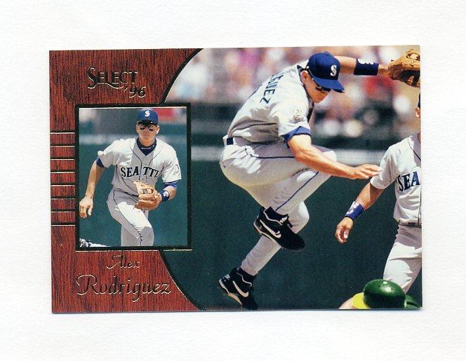 1996 Select Baseball #045 Alex Rodriguez - Seattle Mariners
