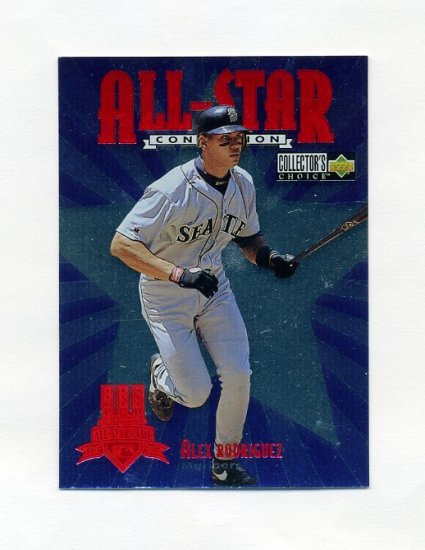 1997 Collector's Choice All-Star Connection Baseball #04 Alex Rodriguez - Seattle Mariners