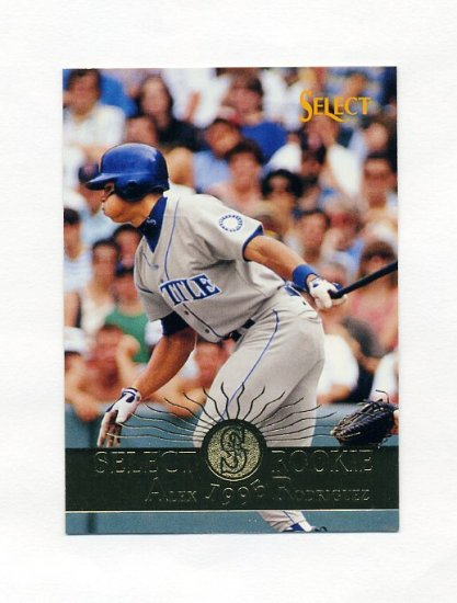 1995 Select Baseball #203 Alex Rodriguez - Seattle Mariners