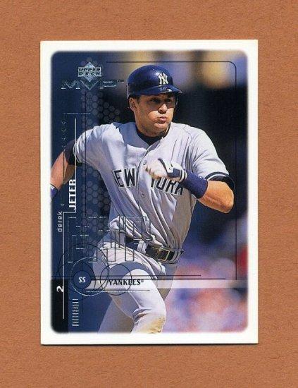 1999 Upper Deck MVP Baseball #139 Derek Jeter - New York Yankees