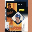 1999 Upper Deck Baseball #530 Cal Ripken Jr. - Baltimore Orioles