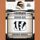2005 Donruss Gridiron Gear Performers Silver Holofoil #22 Ickey Woods - Cincinnati Bengals 161/250