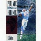 1996 Upper Deck Silver Prime Choice Rookies Football #09 Eddie George - Houston Oilers