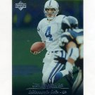 1996 Upper Deck Silver Football #193 Jim Harbaugh - Indianapolis Colts