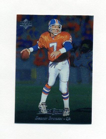 1996 Upper Deck Silver Football #069 John Elway - Denver Broncos