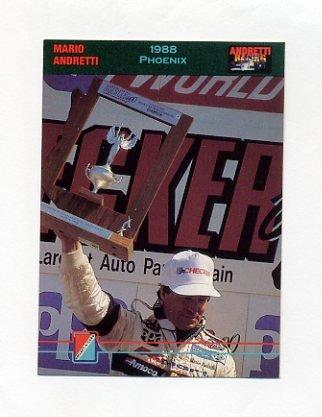 1992 Collect-A-Card Andretti Racing #57 Mario Andretti