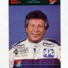 1992 Collect-A-Card Andretti Racing #55 Mario Andretti