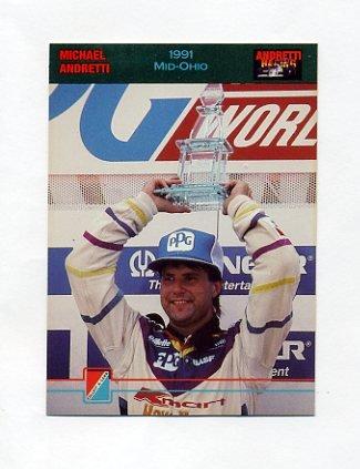 1992 Collect-A-Card Andretti Racing #47 Michael Andretti