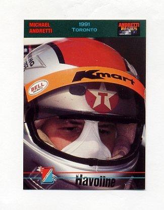 1992 Collect-A-Card Andretti Racing #44 Michael Andretti