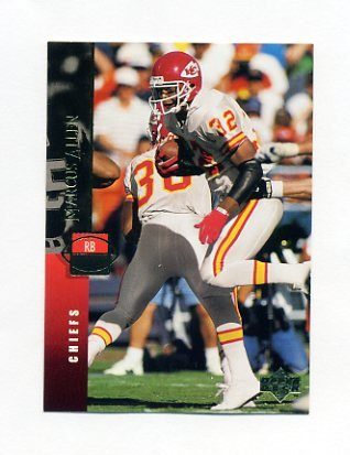 1994 Upper Deck Football #253 Marcus Allen - Kansas City Chiefs