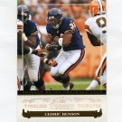2006 Donruss Classics Timeless Tributes Bronze #016 Cedric Benson - Chicago Bears 035/100