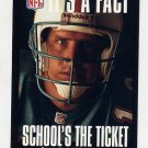 1995 FACT NFL Properties Football #09 Dan Marino - Miami Dolphins