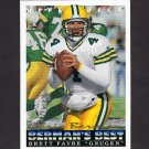 1993 Upper Deck Football #439 Brett Favre - Green Bay Packers