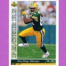 1993 Upper Deck Football #248 Sterling Sharpe - Green Bay Packers