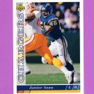 1993 Upper Deck Football #247 Junior Seau - San Diego Chargers