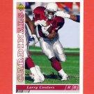 1993 Upper Deck Football #095 Larry Centers RC - Phoenix Cardinals