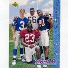 1993 Upper Deck Football #001 Rick Mirer / Garrison Hearst / Curtis Conway / Cortez Kennedy