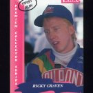 1993 Traks First Run Racing #099 Ricky Craven