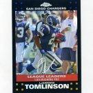 2007 Topps Chrome Refractors Football #TC151 LaDainian Tomlinson - San Diego Chargers