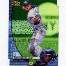 1999 UD Ionix Hyper Baseball #H06 Alex Rodriguez - Seattle Mariners