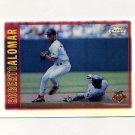 1997 Topps Chrome Refractors Baseball #058 Roberto Alomar - Baltimore Orioles
