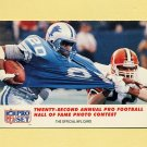 1990 Pro Set Football #794 Barry Sanders - Detroit Lions