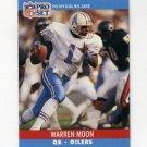 1990 Pro Set Football #517 Warren Moon - Houston Oilers