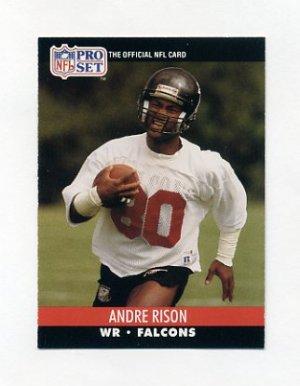 1990 Pro Set Football #434 Andre Rison Atlanta Falcons