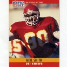 1990 Pro Set Football #147 Neil Smith - Kansas City Chiefs