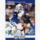 1990 Pro Set Football #134B Andre Rison - Indianapolis Colts