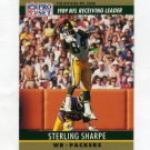 1990 Pro Set Football #013 Sterling Sharpe - Green Bay Packers