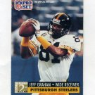 1991 Pro Set Football #775 Jeff Graham RC - Pittsburgh Steelers