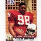 1991 Pro Set Football #735 Eric Swann RC - Phoenix Cardinals