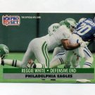 1991 Pro Set Football #620 Reggie White - Philadelphia Eagles